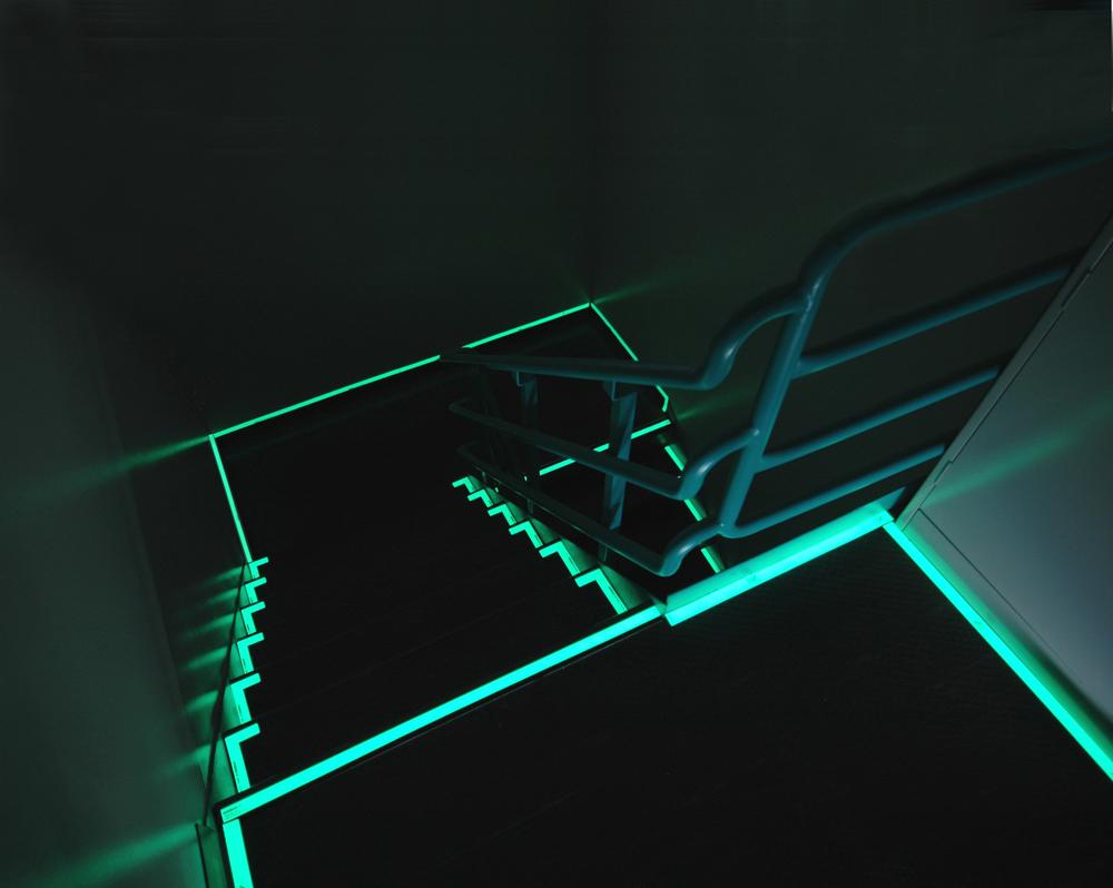 Luminous Stairwell