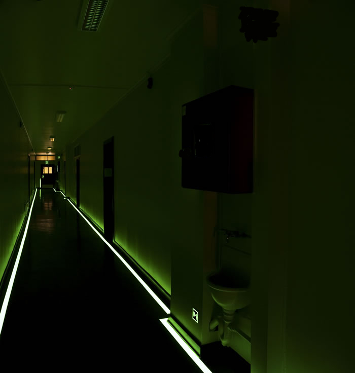 Luminous Hallway