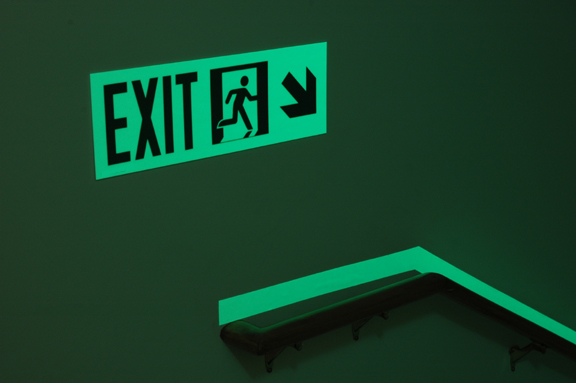 Luminous Egress Exit