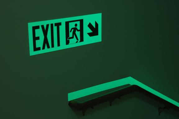 Luminous Egress Exit