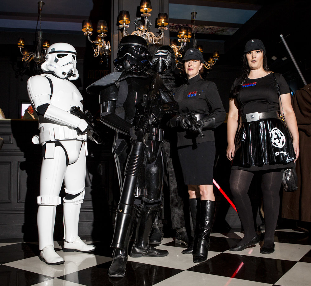 Star Wars fans from the Neon City Garrison - 501st Legion celebrate the 40th anniversary of the release of Episode IV – A New Hope at the Millennium Fandom Bar in the Arts District on Thursday, May 25, 2017. Patrick Connolly Las Vegas Review-Journal @PConnPie