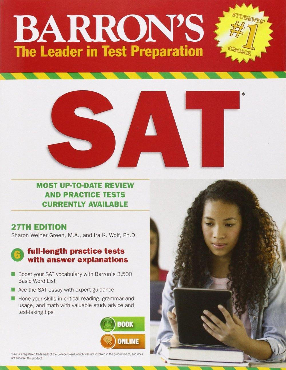 SAT study book