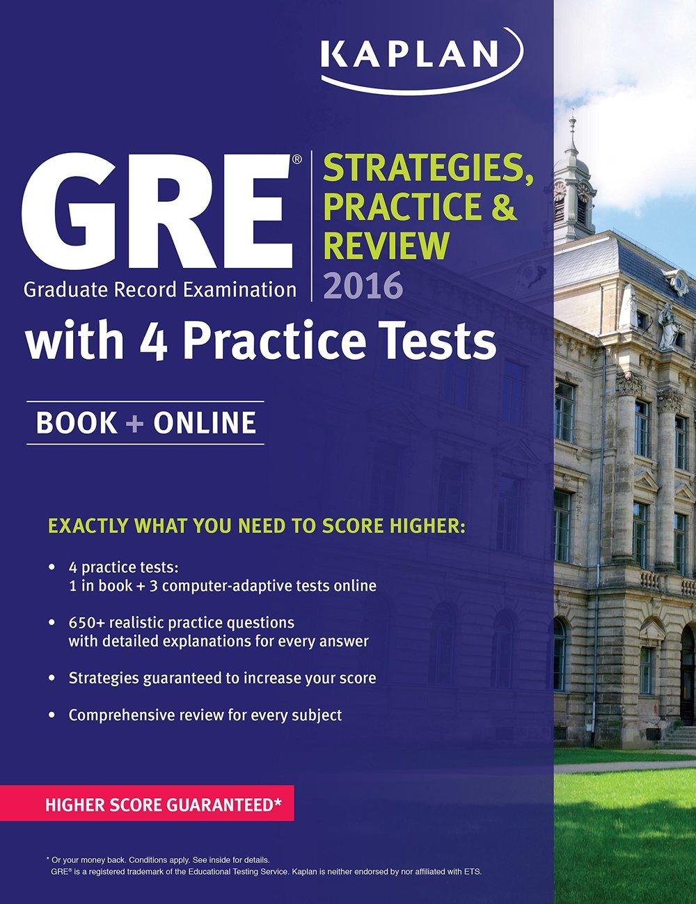 GRE study book
