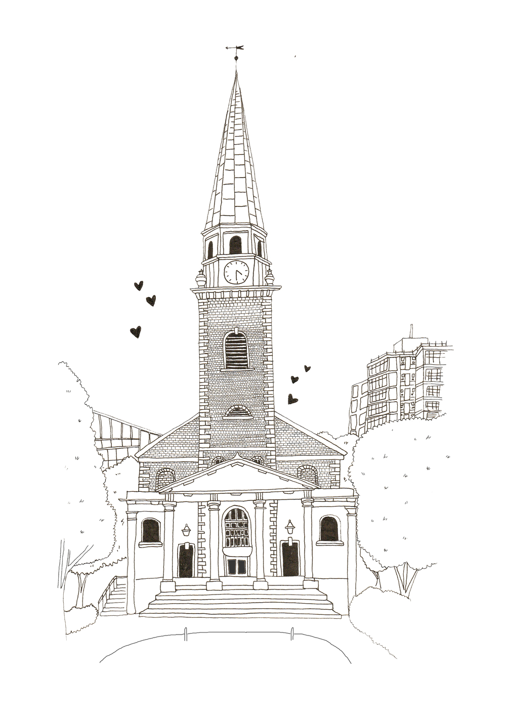 st-marys-church-battersea-illustration