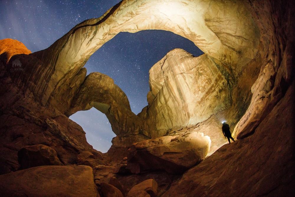 Double Arch- Arches National Park