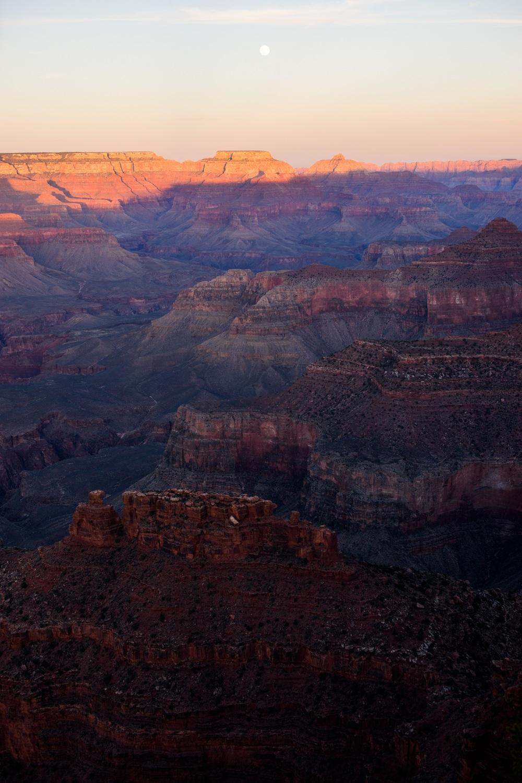 Moonrise- Grand Canyon National Park