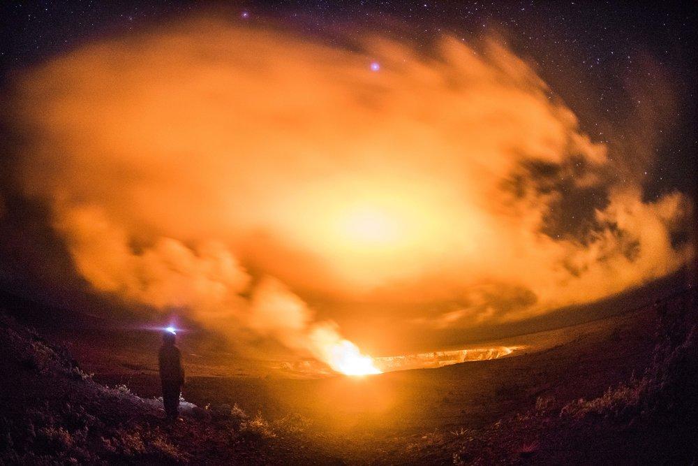 Volcano National Park, Big Island Hawaii 2017.