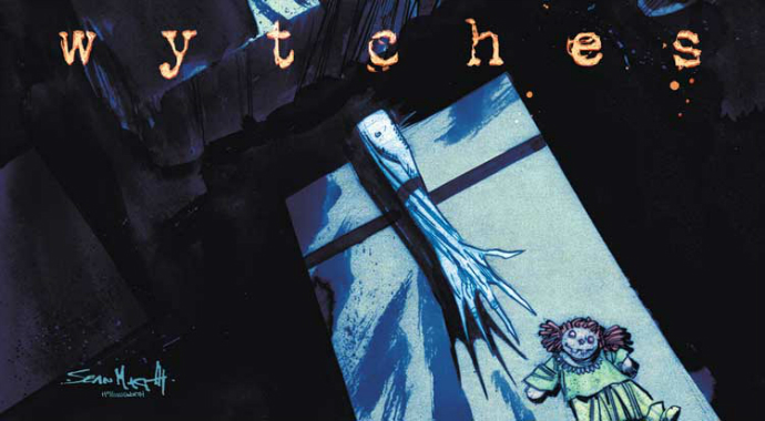 The variant cover for  Wytches  #1 (Image  © Image Comics,  by Sean Murphy and Matt Hollingsworth)