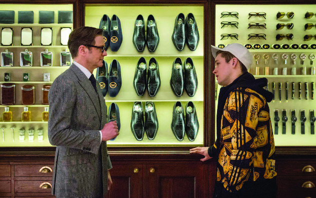 Colin Firth and Taron Egerton in Kingsman: Secret Service (Image  © 20th Century Fox)