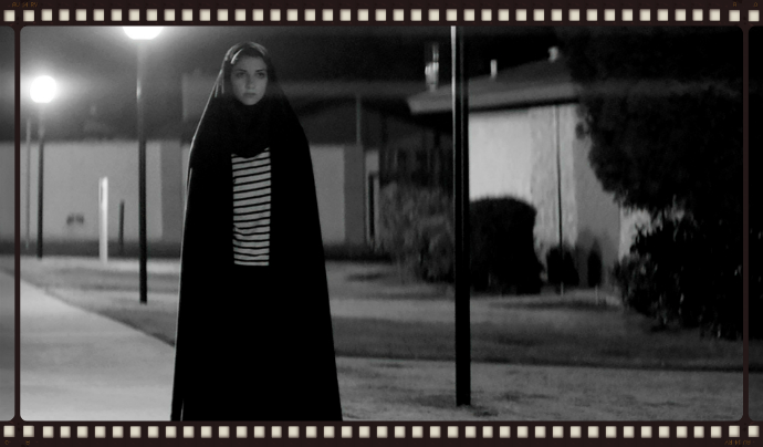 Sheila Vand in A Girl Walks HOme Alone at Night (Image © SpectreVision/Logan Pictures)