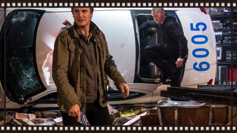 Liam Neeson and Joel Kinnaman in Run All NIght (Image  ©  Warner Bros.)