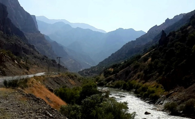 Road to Beytüşşebap, Sirnak, southeast Turkey