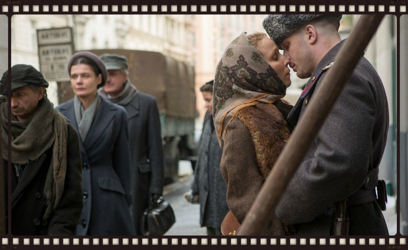 Noomi Rapace and Tom Hardy in Child 44 (Image © Lionsgate).