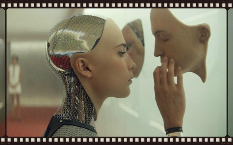 Alicia Vikander as Ava in Ex Machina (Image  ©  A24 Films).