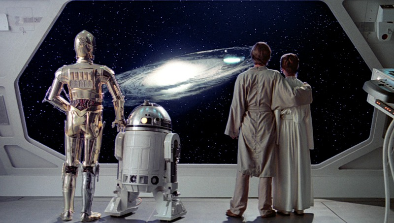 The iconic final shot of The Empire Strikes Back (Image ©Lucasfilm).