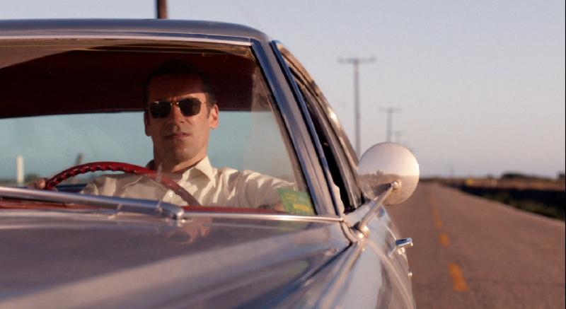 Don Draper, heading west (Image  © AMC/Lionsgate).