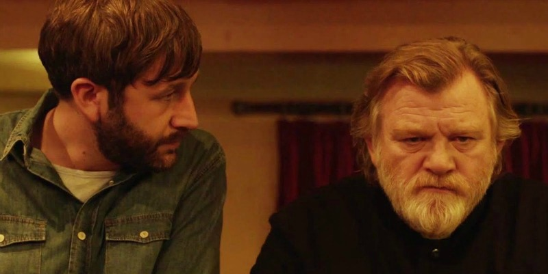 Chris O'Dowd and Brendan Gleeson in Calvary (Image  ©  Entertainment One)