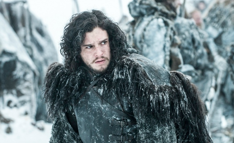 Jon Snow (Kit Harrington) in HBO's Game of Thrones (Image  ©  HBO).