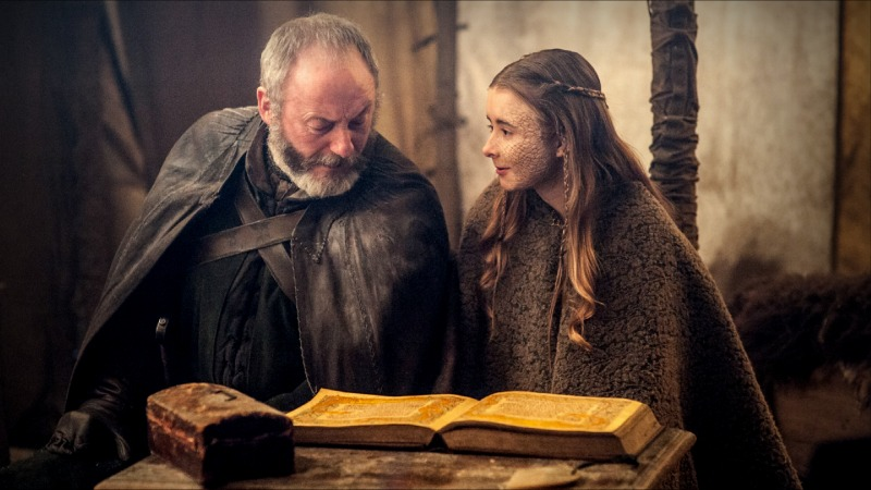 Stannis Baratheon (Stephen Dillane) and his daughter Shireen (Kerry Ingram). (Image  ©  HBO)