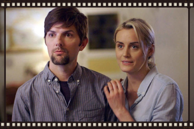 Adam Scott and Taylor Schilling in Patrick Brice's the Overnight (Image  ©  The Orchard).