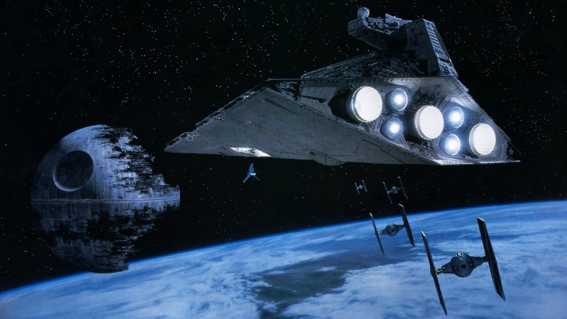 The Second Death Star, from Return of the Jedi (Image © Lucasfilm/Disney)