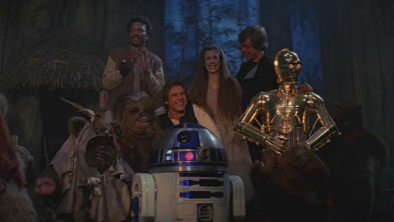 The end of the Star Wars saga. Until December. (Image  © Lucasfilm/Disney)