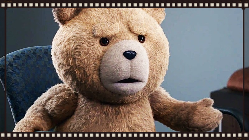 Ted returns, cantankerous as ever, in Ted 2 (Image © Universal Pictures).