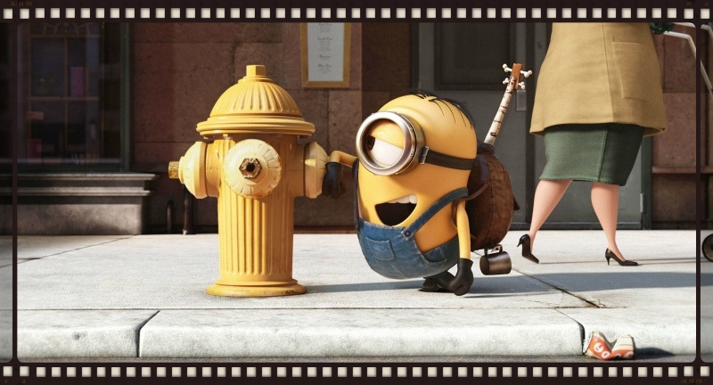 The Minions movie: this, but more (Image  ©  Universal).