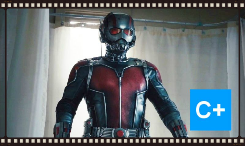 Ant-Man (Paul Rudd) saves the world one bathroom at a time (Image  ©  Marvel).