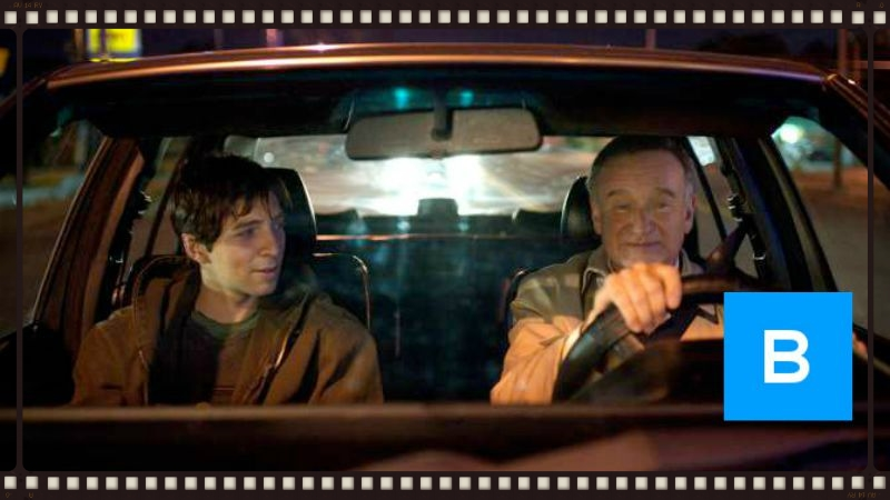 Roberto Aguire and Robin Williams in Boulevard (Image  ©  Starz Digital).