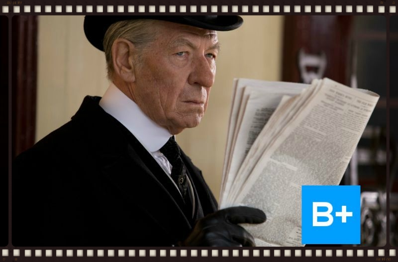 Sir Ian McKellan stars as an aged SherlockHolmes in Mr. Holmes (Image  © Miramax/Roadside Attractions)