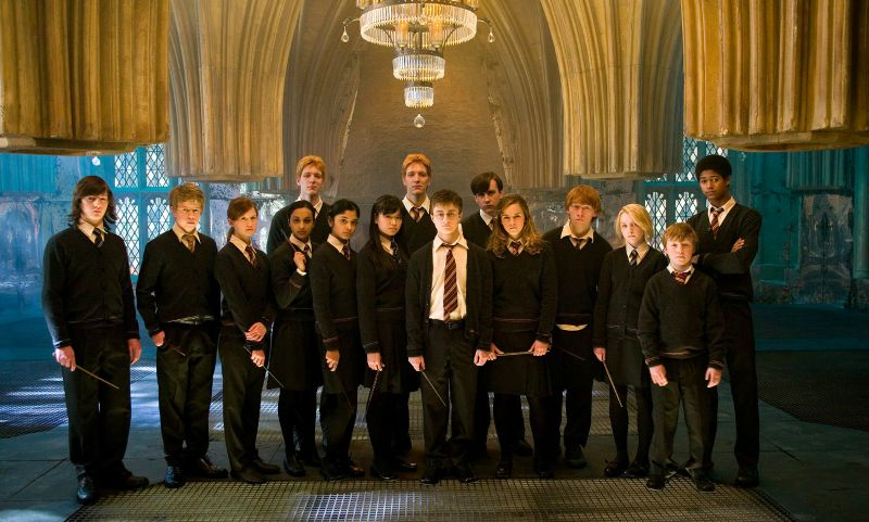 The cast of Harry Potter and the Order of the Phoenix (Image  ©  Warner Bros.)