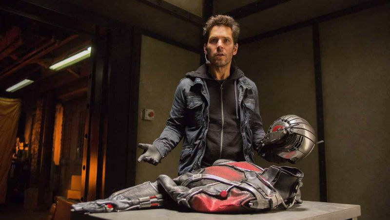 Paul Rudd stars in Marvel's Ant-Man (Image  ©  Marvel).