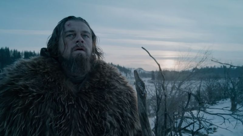 Leonard DiCaprio in The Revenant (Image © 20th Century Fox).