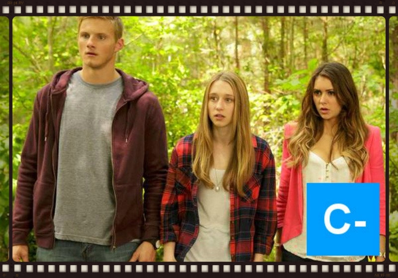 Alexander Ludwig, Taissa Farmiga, and Nina Dobrev star in The Final Girls (Image  ©  Stage 6 Films).