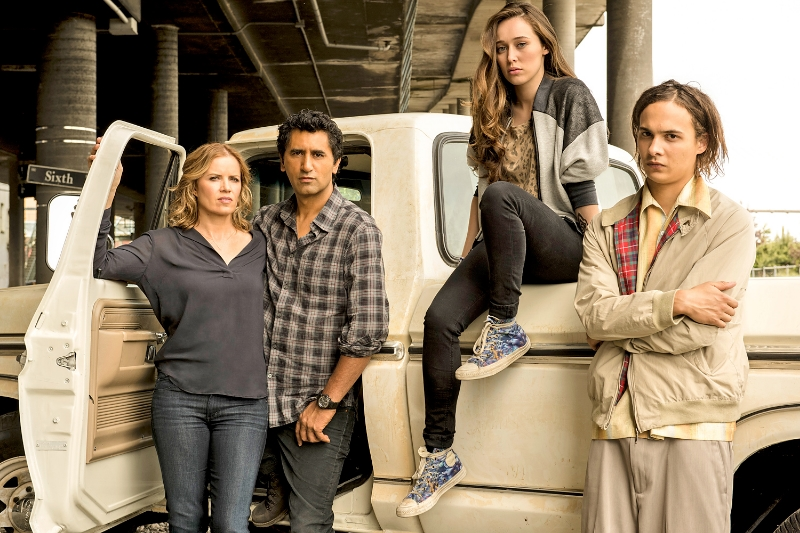 The cast of AMC's Fear the Walking Dead (Image © AMC).