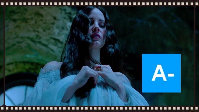 Jessia Chastain in Guillermo del Toro's Crimson Peak (Image ©Universal Pictures).