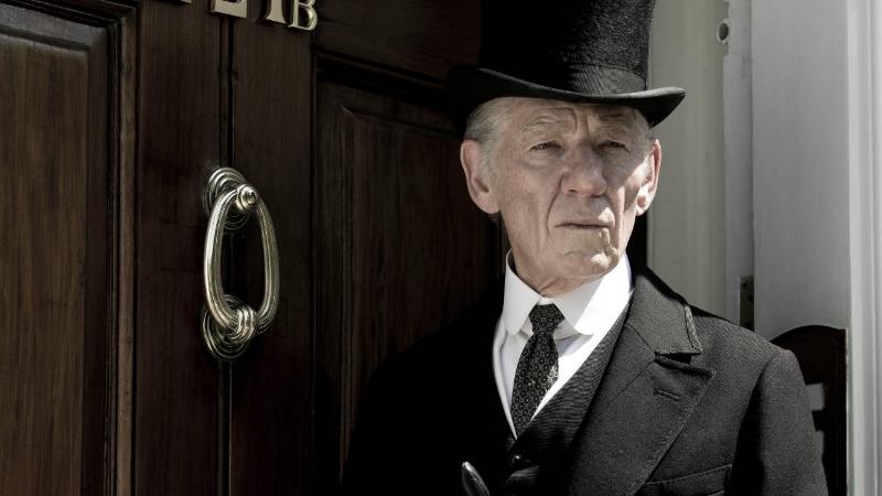 Ian McKellen stars as an aging Sherlock Holmes in Mr. Holmes (Image ©Lucasfilm).