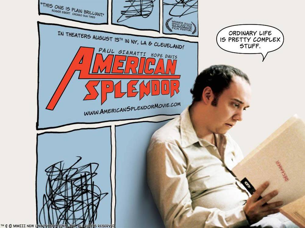 Paul Giamatti as Pekar in the film version of American Splendor (Image © Fine Line Features)