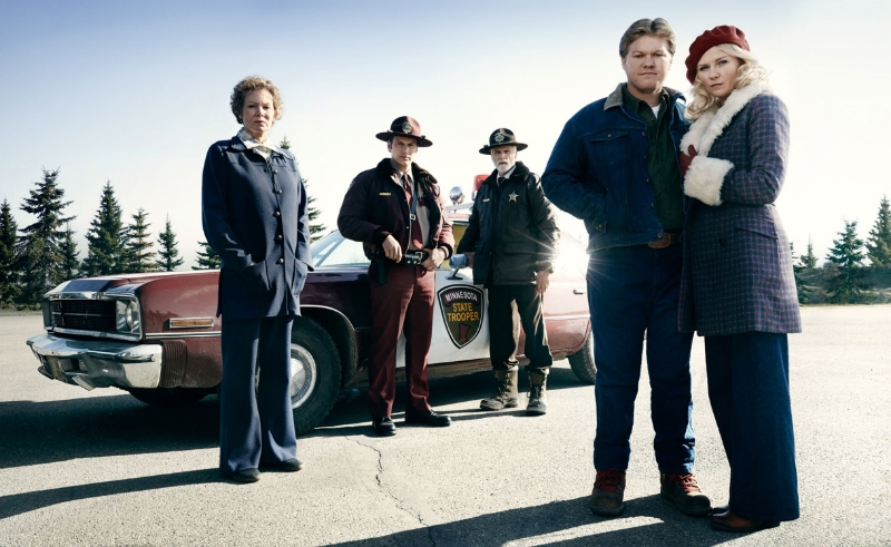 The cast of the FX series Fargo (Image © FX).