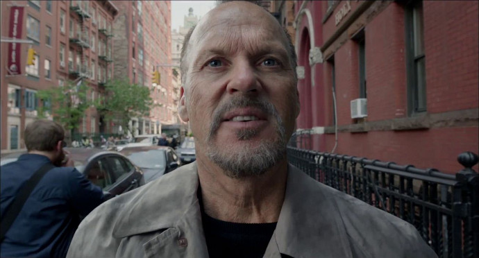 Michael Keaton in Birdman (Image © FOX Searchlight Pictures).