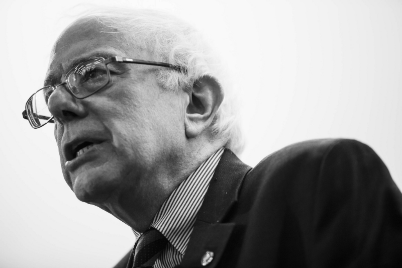 Vermont Senator Bernie Sanders, Democratic candidate for President (Image  ©  Mark King).