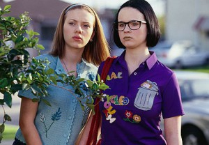 Scarlett Johansson and Thora Birch as Becky and Enid in Ghost World (Image © United Artists)