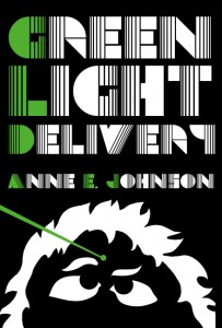 The cover of Johnson's science-fiction novel Green Light Delivery