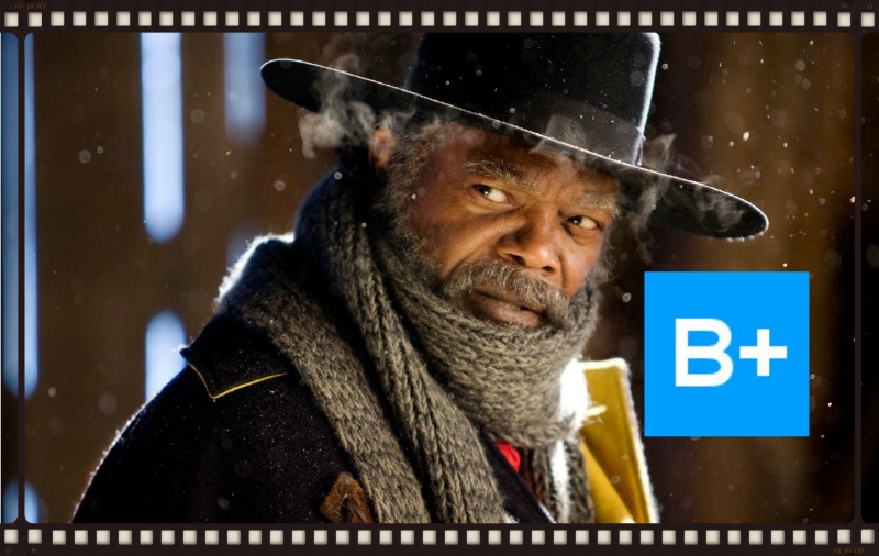 Samuel L. Jackson stars in The Hateful Eight (Image  ©  The Weinstein Company).