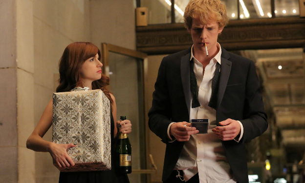 Aya Cash and Chris Geere in You're the Worst (Image © FX Productions).