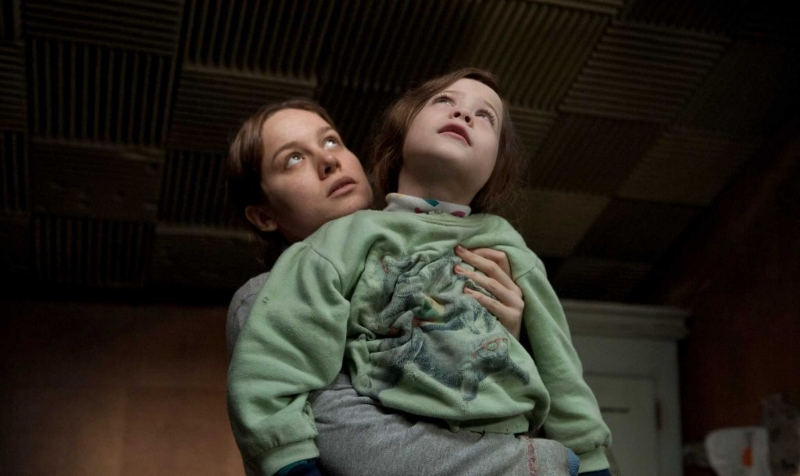 Brie Larson and Jacob Tremblay in Lenny Abrahamson's  Room  (Image © A24 Films).