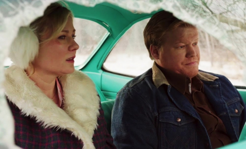 Kirsten Dunst and Jesse Plemmons in Fargo (Image © FX).
