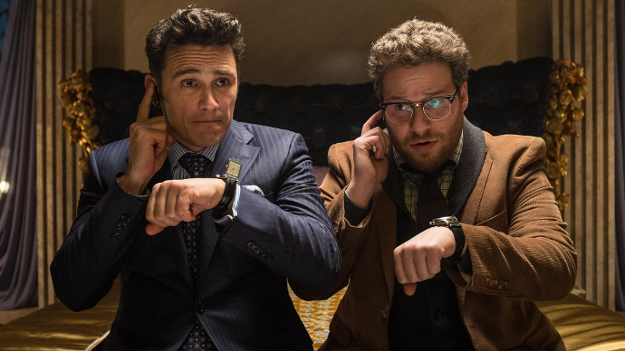 James Franco and Seth Rogen, diplomatic geniuses (Image © Sony).