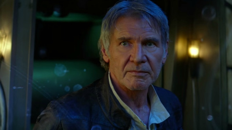 Han Solo passes on the legend of the force (Image © Lucasfilm).